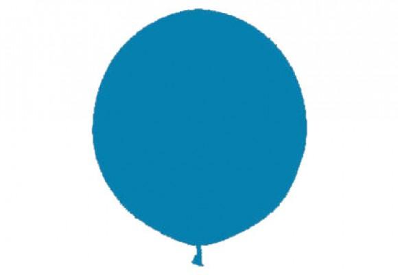 Kæmpeballon blå