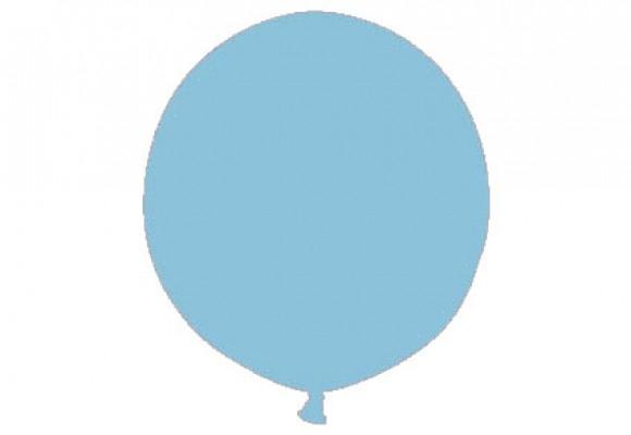Kæmpeballon lys blå