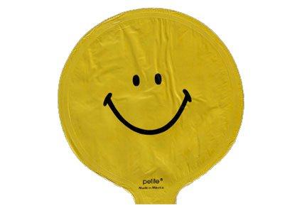 Mini folie balloner på pind - klar til brug