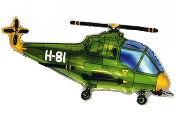 253 Helicopter Grøn