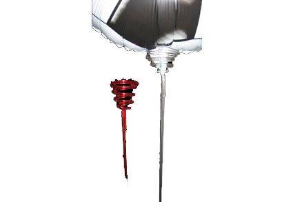 Plastpinde til Folieballoner