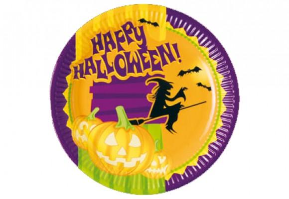 Halloween Paptallerkener
