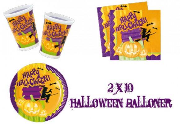 Halloween pakke