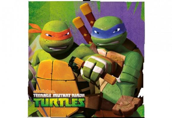 Ninja Turtles Servietter