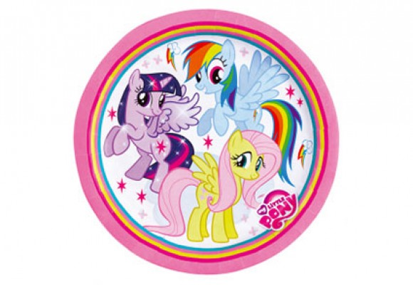 My Little Pony Paptallerkener